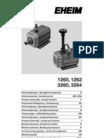EHEIM Universal 1260-3264 Manual
