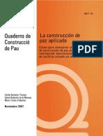 Cuadernos Para La Paz Secundaria y Bachillerato