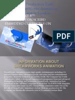 Presentation Dreamworks