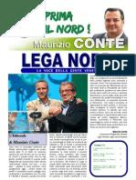 """L'editoriale di Maurizio Conte """"LEGA NORD -  LA VOCE DELLA GENTE VENETA"""" edizione dicembre 2012"""