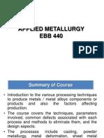 L1 Manufacturing Process