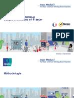 La sécurité informatique - Usages et attitudes en France
