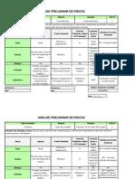 APR - Análise Preliminar de Riscos