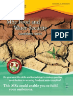 16133 MSc Food Water Security Candidate's Guide Jan 2012