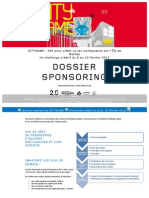CityGame - dossier sponsor