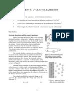 Voltametria Cíclica 2