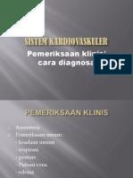 Sistem Kardiovaskuler II Diagnosa Klinik