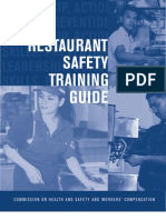 Restaurant Safety Training Guide