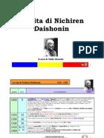 La Vita Di Nichiren Daishonin
