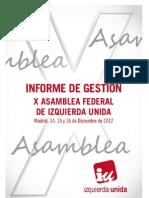 INFORME  DE GESTIÓN X ASAMBLEA  DEFINITIVO 4.12.12.