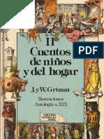 Hermanos Grimm - CUENTOS DE NIÑOS Y DEL HOGAR - Tomo II.