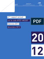 Rapport 2012 Afep Medef- Vf