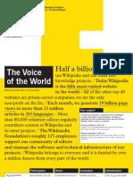 Wikimedia Foundation Annual Report 2011-2012