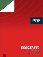 Gorosabel Solar Energy Profile 2013