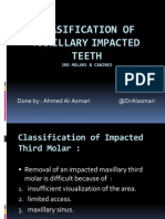 clasification of maxillary impacted teeth