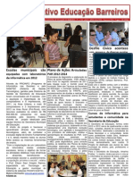 Informativo Educação Barreiros - PE