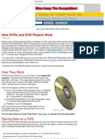 How DVDs and DVD Players Work