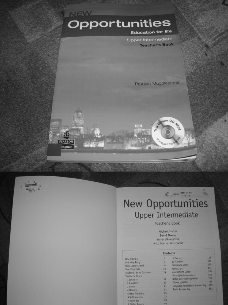 Opportunities upper intermediate скачать cd.