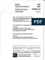 IEC 61000-4-8 Electromagnetic Compatibility