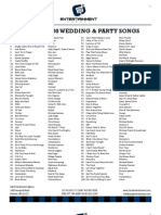 Top 200 Song List
