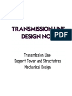 MECHANICAL DESIGN of TRANSMISSION LINE
