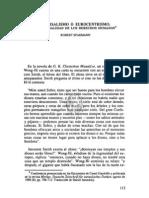 UNIVERSALISMO O EUROCENTRISMO. LA UNIVERSALIDAD DE LOS DERECHOS HUMANOS*, Robert Spaemann