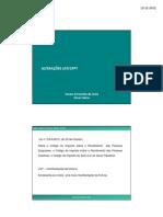 alterações fiscais LGT CPPT Dra Suzana Costa