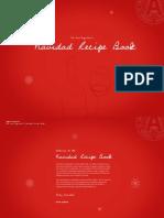 Navidad Recipe Book from Argento