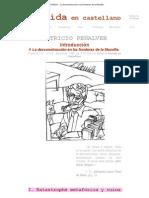 Derrida en castelllano - Patricio Peñalver - La desconstrucción en las fronteras de la filosofía