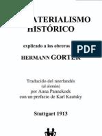 Hermann Gorter - El materialismo histórico explicado a los obreros