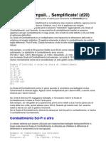 Battaglie Campali semplificate (d20)
