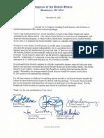 Boehner Letter