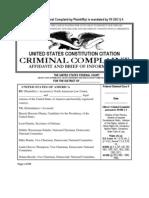 115130704 Criminal Complaint Challenging the 2012 Election