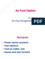 coal as fuel