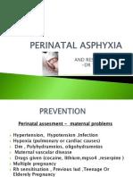 Perinatal Asphyxia