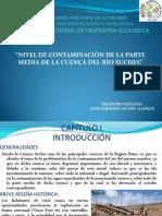 Contaminacion Cuenca Suches