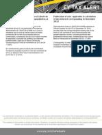Tax Alert - Publicada Tasa para el cálculo de los intereses moratorios para noviembre de 2012