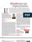 2013 Guide to Fast Lube Programs and Franchises