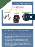 Bab IV Teori Belajar PP
