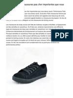 Performance Faits Chaussures Femme Pas Cher Importantes Que Vous Devez Savoir.20121220.210213