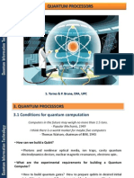 3 - Quantum Processors. Optical Photon Quantum Computer