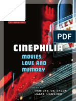 Cinephilia; Movies, Love and Memory