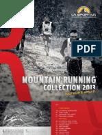 La Sportiva Catalogo Mountain Running 2013