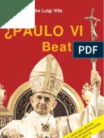 PAULO VI ¿BEATO?