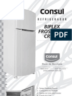 Manual Consul CRM50a frost free