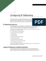 Configuracion de una direccion IP