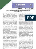 Third World Network – Doha Update #26