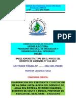 Bases Ayacucho Canal WIG