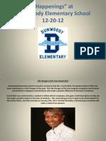 Dunwoody Elementary News 12-20-12