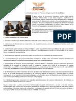 Movimiento Ciudadano detecta anomalías en el proceso entrega-recepción de Guadalajara.